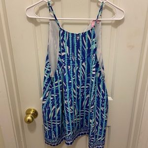 Blue lily pulitzer tank top